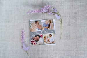 przykładowy wzór ślubnego foto zaproszenia