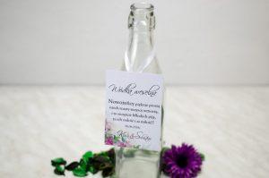 zawieszka na butelkę z alkoholem weselnym