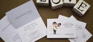 śmieszne ślubne zaproszenie