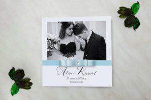 zaproszenie na ślub foto